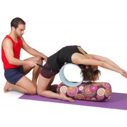 Rueda antideslizante para yoga