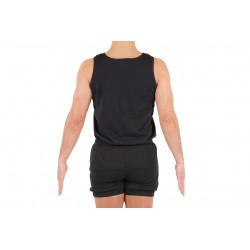 Camiseta hombre básica negra T-XL