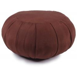 Zafu -redondo-marrón-espelta