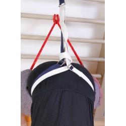 Cinturón de algodón doble hebilla